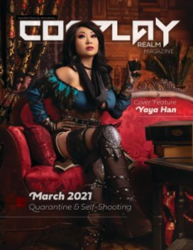 Cosplay Realm Magazine No. 47 book cover