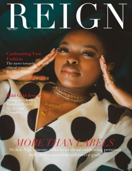 Reign Magazine March Issue book cover