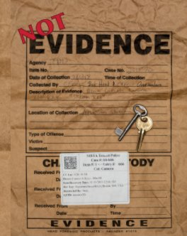 Trespassion - Not Evidence book cover