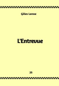 25-L'entrevue book cover