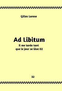 32- Ad Libitum book cover