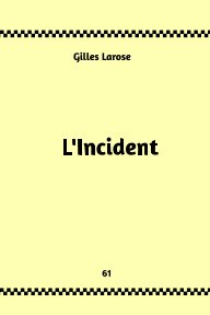 61- L'Incident book cover