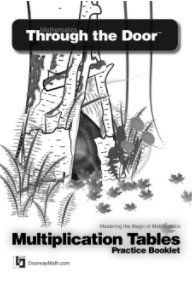 Mathematics Through the Door - Multiplication Tables Practice Booklet book cover