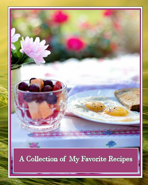 View Blank Recipe Book by Lori-Ann Willey