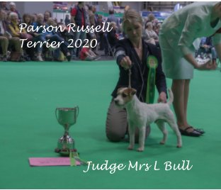 Parson Russel Terrier at Crufts 2020 book cover