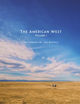 The American West: Volume I book cover