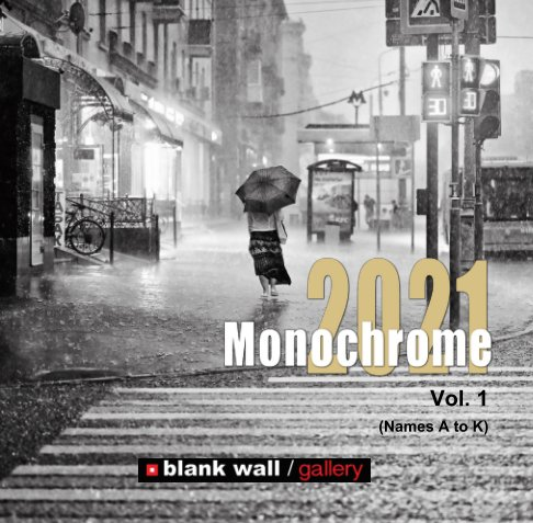 View Monochrome 2021 Vol. 1 (Names A to K) by Blank Wall Gallery