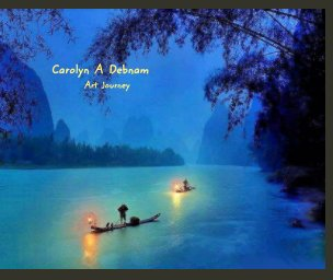 Carolyn Debnam   ART    Portfolio book cover
