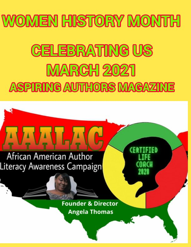 View African American Author Literacy Awareness Campaign and Aspiring Authors Magazine Special Edition by ANGELA T SMITH