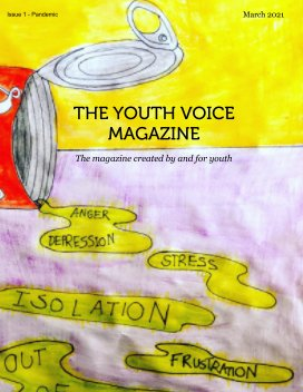 The Youth Voice Magazine Issue 1 - Pandemic book cover