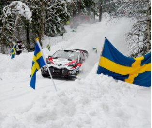 Rally Sweden - My journey over the years in images book cover