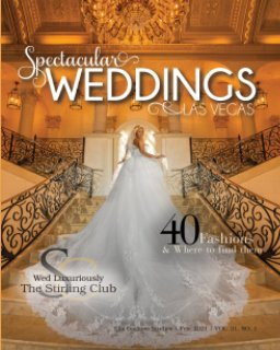 Spectacular Weddings of Las Vegas Vol. 31, No. 1 book cover