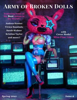 Army of Broken Dolls Magazine book cover