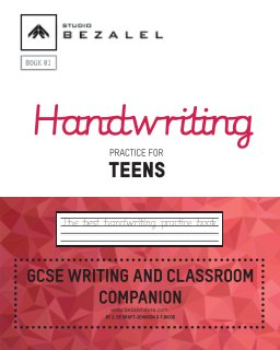 Handwriting Practice for Teens Book 01 book cover