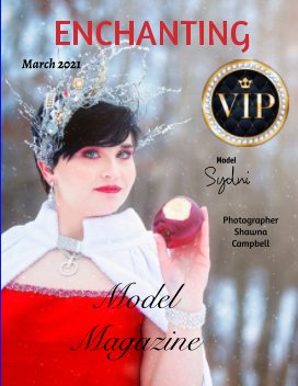 EMM Enchanting Model Magazine March 2021 book cover