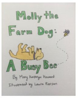 Molly the Farm Dog: A Busy Bee book cover