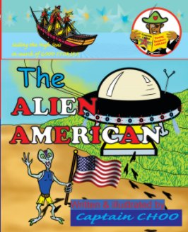 The ALIEN AMERICAN book cover