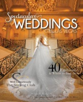 Spectacular Weddings of Las Vegas Vol. 31, No. 1 book cover