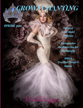 Crownchanting Model Magazine Spring 2021 book cover