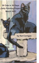 30 Cats in 30 Days March 2021 book cover
