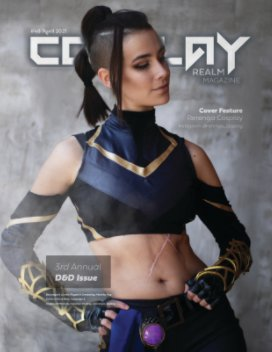 Cosplay Realm Magazine No. 48 book cover
