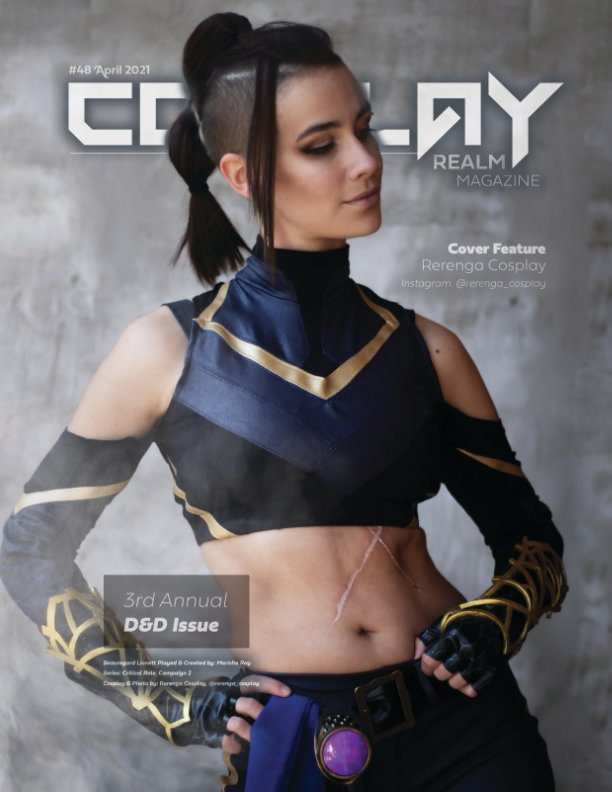 Ver Cosplay Realm Magazine No. 48 por Emily Rey, Aesthel
