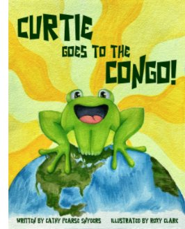 Curtie Goes to the Congo-English book cover