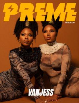 Preme Magazine Issue 26: Vanjess book cover