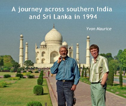 A journey across southern India and Sri Lanka in 1994 book cover