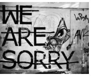We are sorry book cover