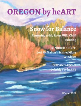 Oregon by heART Issue 1 book cover