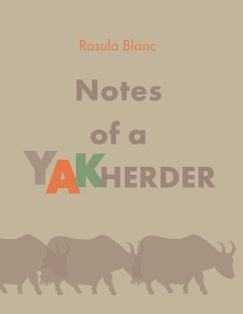 Notes of a yak herder book cover