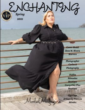 Enchanting Model Magazine Spring 2021 book cover