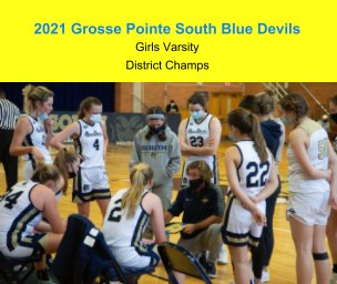 2021 GPS Girls Varsity Basketball book cover