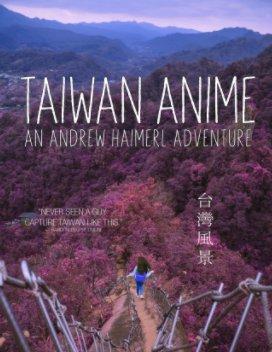 Taiwan Anime book cover