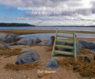 Huntington and Northport NY, Fall and Winter 2021 book cover