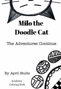 Milo the Doodle Cat The Adventures Continue book cover