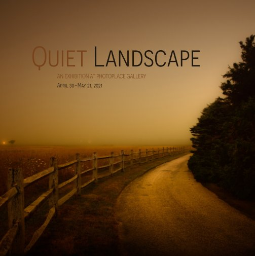 View Quiet Landscape, Hardcover Imagewrap by PhotoPlace Gallery