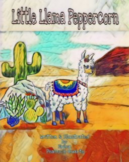 Little Llama Peppercorn book cover