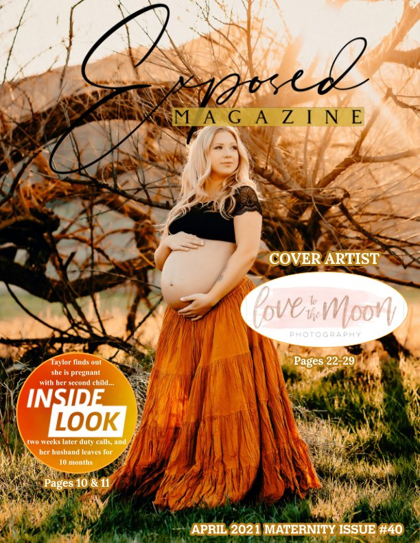 Bekijk April 2021 Maternity Issue #40 op Exposed Magazine