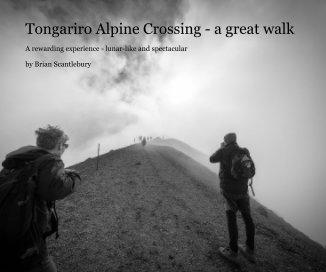 Tongariro Alpine Crossing - a great walk book cover
