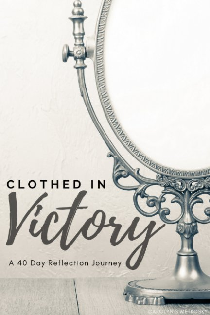 Ver Clothed in Victory Black and White por Carolyn Simetkosky