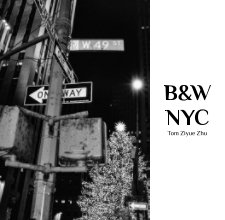 Black and White New York City book cover