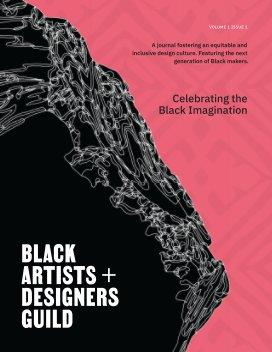 Black Artists + Designers Guild Journal book cover