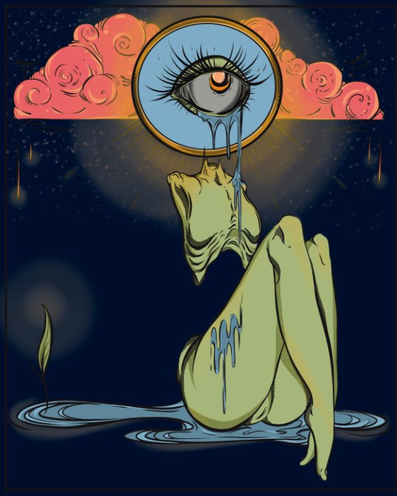 View Eyeink : The Weeping Eye by Helen Espinoza