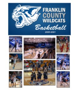 Franklin County Basketball 2020-21 book cover