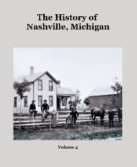 The History of Nashville, Michigan book cover