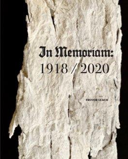 In Memoriam: 1918/2020 book cover