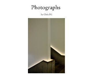 Photographs by Chris FG book cover