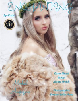Enchanting Model Magazine April 2021 book cover